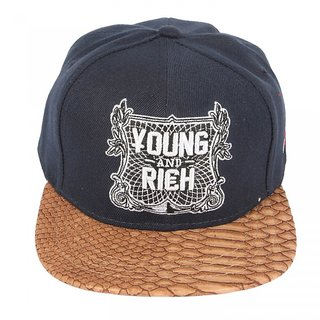 99b41a24baf Buy ILU Young and Rich Cap For Kids (Snapback Cap Baseball caps  Hip ...