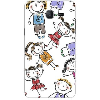 Garmor Designer Plastic Back Cover For Samsung Galaxy On7