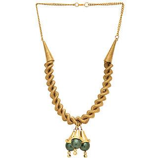 Golden Spring Necklace