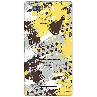Garmor Designer Plastic Back Cover For Sony Xperia E3