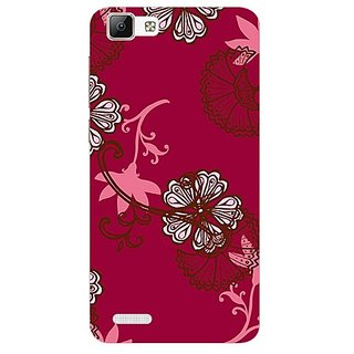 Garmor Designer Plastic Back Cover For VIVO V1