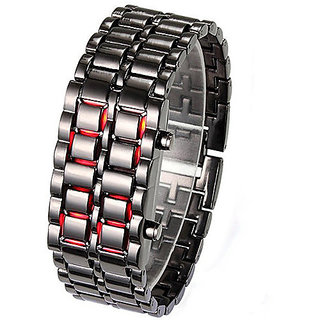 black led watches