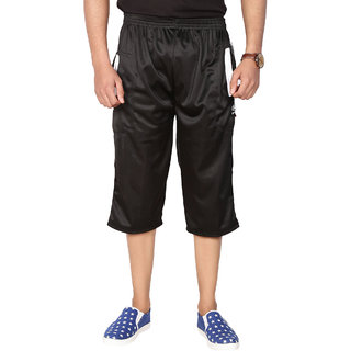 Swaggy Super Poly Mens Capri (SWSPCBLACK)