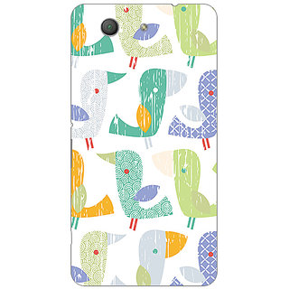 Garmor Designer Plastic Back Cover For Sony Xperia Z3 compact
