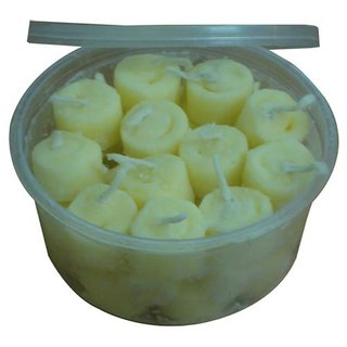 Pooja Ghee Batti (Ready to light diya) - Pack Of 100 pc.