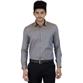 Independence Mens Dobby Formal Shirt