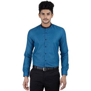Independence Mens Self Structures Formal Shirt