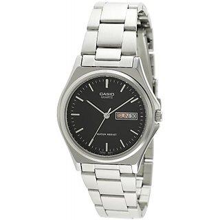 Casio Enticer Analog Black Dial Men's Watch - MTP-1240D-1ADF