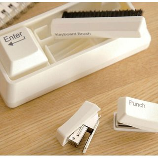 Keyboard Stationery Kit,Desk Accessory by Flintstop