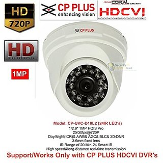 Cp Plus Hdcvi Dome Night Vision