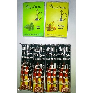 Deal Price Set Of Hookah flavour and Charcoal