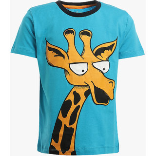 Lazy Shark Boys Animal Printed T-Shirts