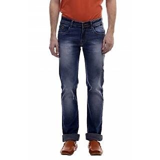 Revolt Light Blue Slim Fit Mens Jeans