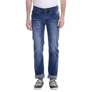 Revolt Slim Fit Mens Light Blue Jeans