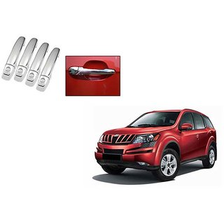 Takecare Chrome Catch Cover For Mahindra Xuv 500 New 2015