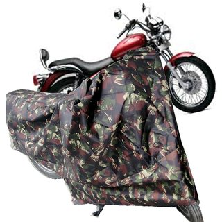 Autoplus Body Cover for (Thunderbird Bike)- jungle print