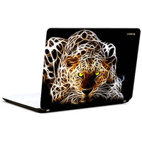 Pics And You 3D Leopard 3M/Avery Vinyl Laptop Skin Decal-AM012