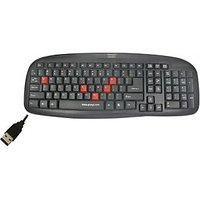 Quantum QHM7408 USB Wired USB Standard Keyboard