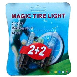 Colorfull Magic Tire Flashing Flash Wheel Lights