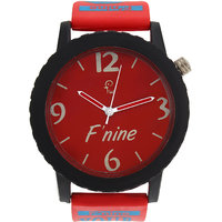 Fnine mens watches casual big model SP007RED