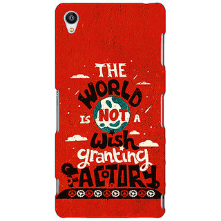 Jugaaduu TFIOS Wish Granting Factory  Back Cover Case For Sony Xperia M4 - J610113