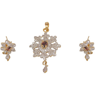 Stylish Pendent with Earings without chain