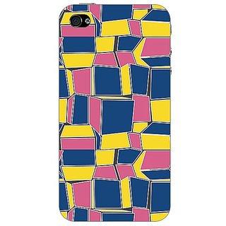 Designer Plastic Back Cover For Apple iPhone 4