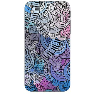 Designer Plastic Back Cover For HTC Desire 816