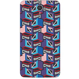 Designer Plastic Back Cover For Lenovo A850