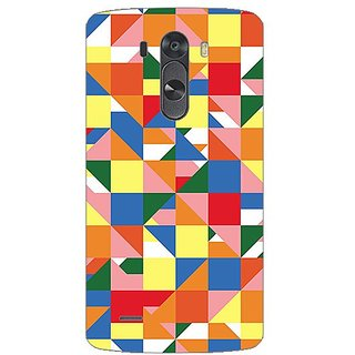 Designer Plastic Back Cover For LG G3