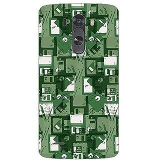 Designer Plastic Back Cover For LG G3