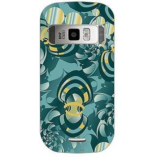 Garmor Designer Plastic Back Cover For Nokia C7