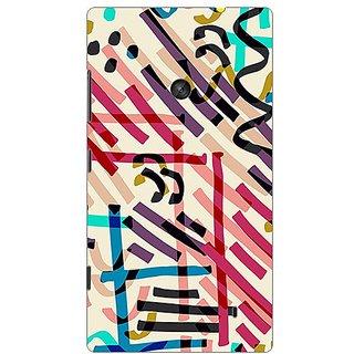Garmor Designer Plastic Back Cover For Nokia Lumia 520