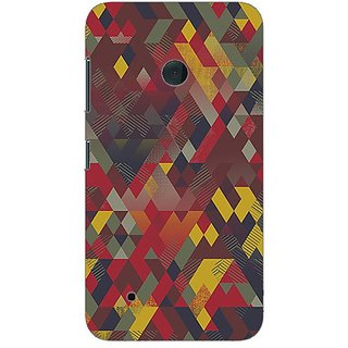 Garmor Designer Plastic Back Cover For Nokia Lumia 530