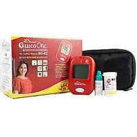 DR.MOREPEN BG 02 GLUCO ONE NO CODE BLOOD GLUCOSE MONITOR WITH 25 TEST STRIPS