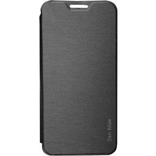 TBZ Flip Cover Case for Asus Zenfone Max ZC550KL -Black