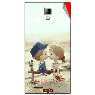 Instyler Mobile Skin Sticker For Micromax Canvas Xpressa99 MSMMXCANVASXPRESSA99DS-10074 CM-554