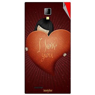Instyler Mobile Skin Sticker For Micromax Canvas Xpressa99 MSMMXCANVASXPRESSA99DS-10127 CM-607