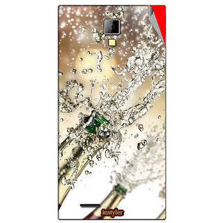 Instyler Mobile Skin Sticker For Micromax Canvas Xpressa99 MSMMXCANVASXPRESSA99DS-10148 CM-628