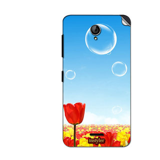 Instyler Mobile Skin Sticker For Micromax Unite 2A106 MSMMXUNITE2A106DS-10079 CM-399