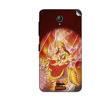 Instyler Mobile Skin Sticker For Micromax Unite 2A106 MSMMXUNITE2A106DS-10089 CM-409