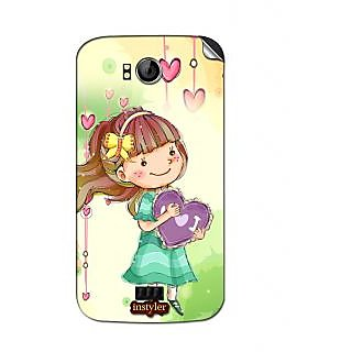 Instyler Mobile Skin Sticker For Micromaxcanvas Music A88 MSMMXCANVASMUSICA88DS-10061 CM-2141