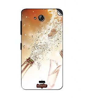 Instyler Mobile Skin Sticker For Micromax Canvas Play Q355 MSMMXCANVASPLAYQ355DS-10147 CM-1427