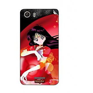 Instyler Mobile Skin Sticker For Micromax Canvas Spark 2Q334 MSMMXCANVASSPARK2Q334DS-10071 CM-1191