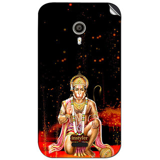 Instyler Mobile Skin Sticker For Micromax Canvas Lite A92 MSMMXCANVASLITEA92DS-10093 CM-2493