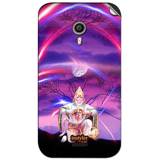 Instyler Mobile Skin Sticker For Micromax Canvas Lite A92 MSMMXCANVASLITEA92DS-10104 CM-2504