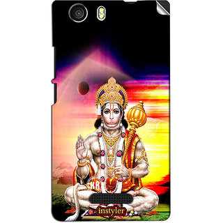 Instyler Mobile Skin Sticker For Micromax Canvas Nitro 2E311 MSMMXCANVASNITRO2E311DS-10094 CM-2014