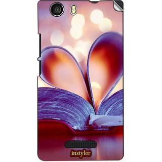 Instyler Mobile Skin Sticker For Micromax Canvas Nitro 2E311 MSMMXCANVASNITRO2E311DS-10123 CM-2043