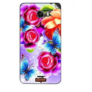 Instyler Mobile Skin Sticker For Micromax Canvas Nitro A310 MSMMXCANVASNITROA310DS-10077 CM-1677