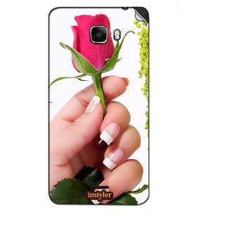 Instyler Mobile Skin Sticker For Micromax Canvas Nitro A310 MSMMXCANVASNITROA310DS-10082 CM-1682